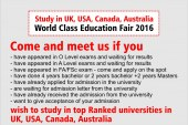 World Class Education Fair